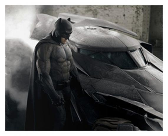 Ben Affleck como Batman en Batman v Superman: Dawn of Justice (2016), en color