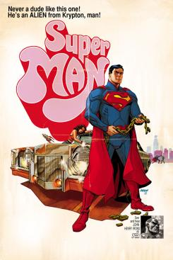 Superman #40 inspirada por Super Fly, con portada de Dave Johnson