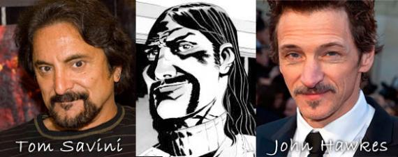 John Hawkes y Tom Savini candidatos para ser El Gobernador en The Walking Dead