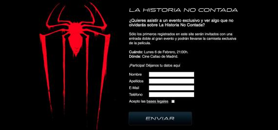 Avance exclusivo de The Amazing Spider-Man en los cines Callao