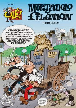 Ediciones B Ole 200 - Mortadelo y Filemón. ¡Tijeretazo!