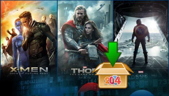 Las secuelas de Capitán América y Thor y la última entrega de X-Men entre las películas m�&