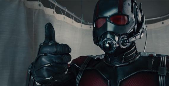 Captura del primer trailer de Ant-Man (2015)