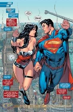 Página de Superman / Wonder Woman #7