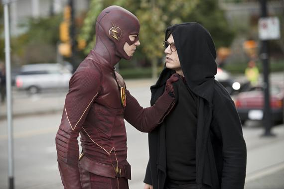 Imagen promocional de The Flash 1x11: The sound and the fury