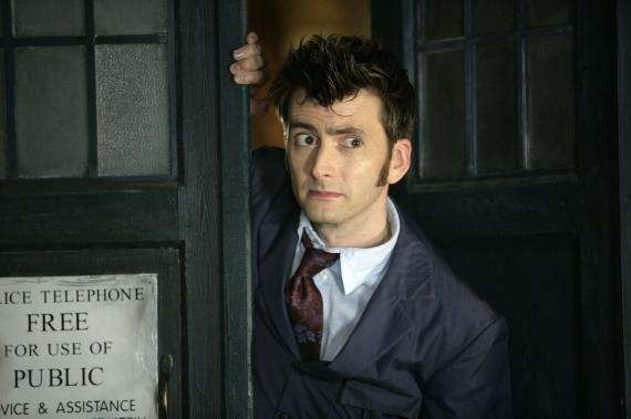 David Tennant como el décimo Doctor
