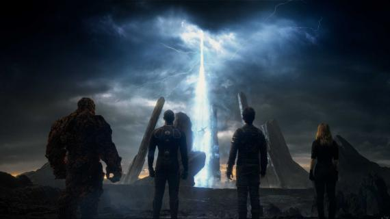 Captura del primer trailer oficial de The Fantastic Four (2015)