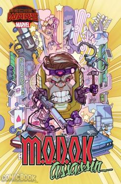 Portada de MODOK Assassin