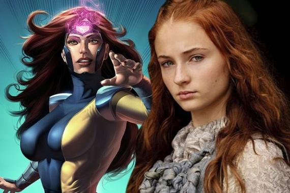 Sophie Turner es Jean Grey en X-Men: Apocalipsis (2016)