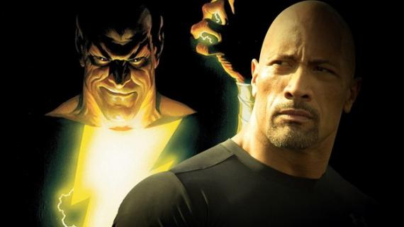 Dwayne Johnson es Black Adam en Shazam (2019)