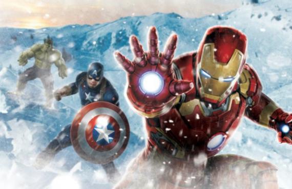 Arte promocional de Los Vengadores: La Era de Ultrón (2016)
