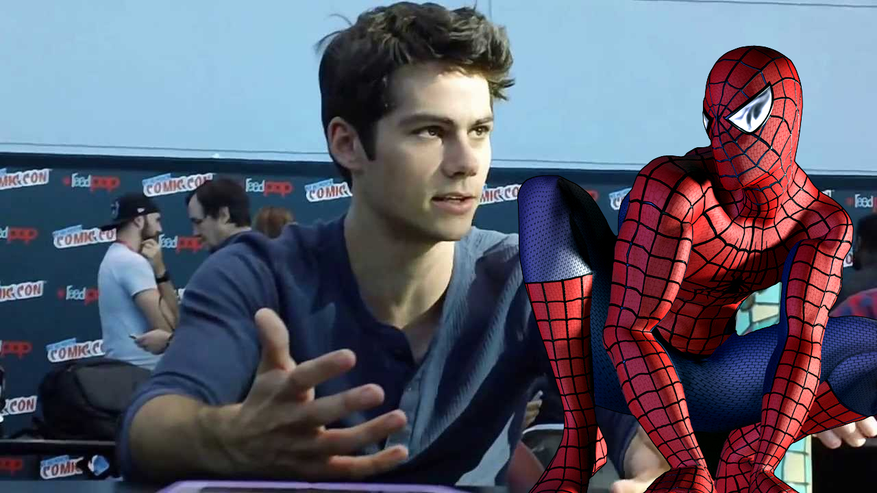 Dylan O'Brien and Logan Lerman - Spider-Man