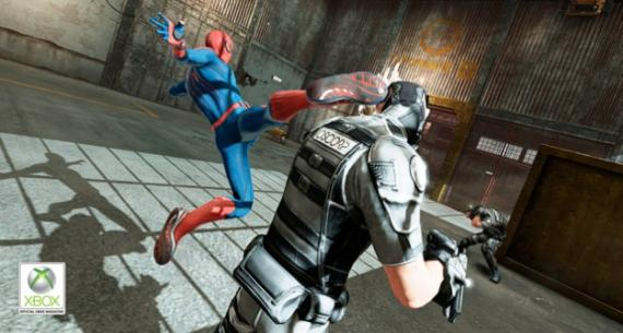 Captura ingame para Xbox 360 del videojuego The Amazing Spider-Man (2012)