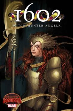 Portada alternativa de 1602: Witch Hunter Angela