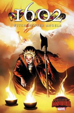 Portada de 1602: Witch Hunter Angela