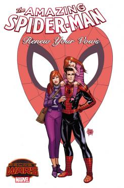 Portada de The Amazing Spider-Man: Renew Your Votes