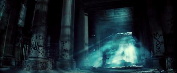 Captura del primer trailer de Batman v Superman: Dawn of Justice (2016)