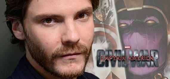 Daniel Brühl insinúa que podría ser Baron Zemo en Capitán América: Civil War (2016)