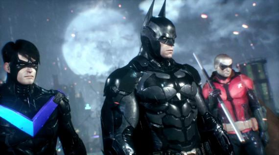 Captura del trailer All who follow you de Batman: Arkham Knight (2015)