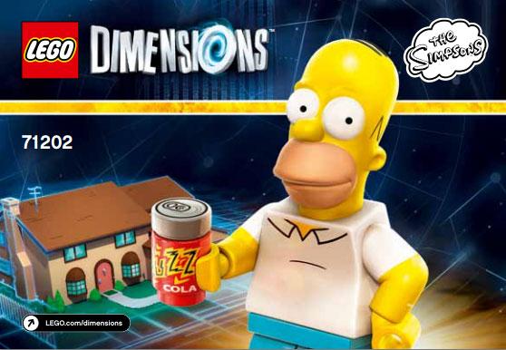 Los Simpson en LEGO Dimensions (2015)