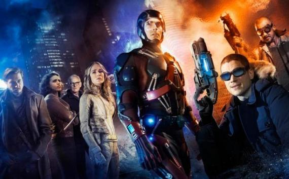 Primer banner de Legends of Tomorrow