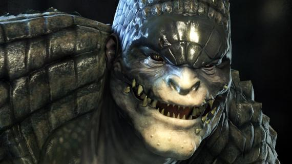 Killer Croc en Batman: Arkham Origins