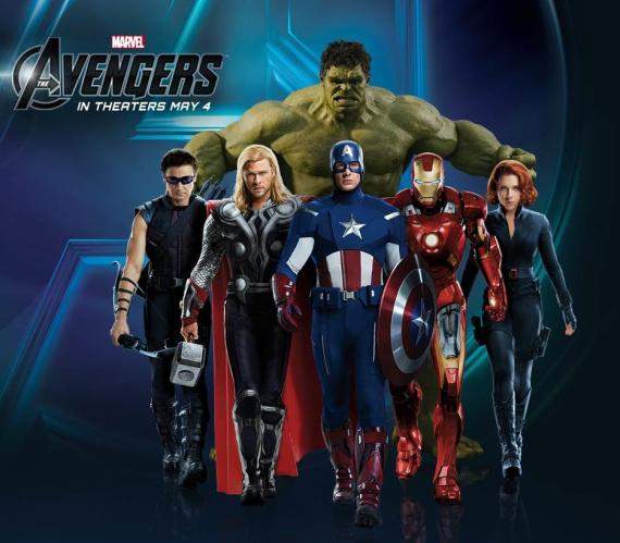 Banner the The Avengers / Los Vengadores (2012)