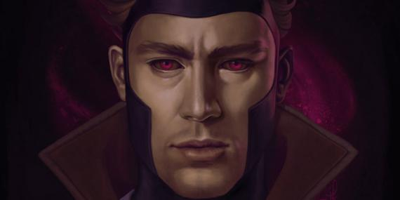 Fan-art de Channing Tatum como Gambit