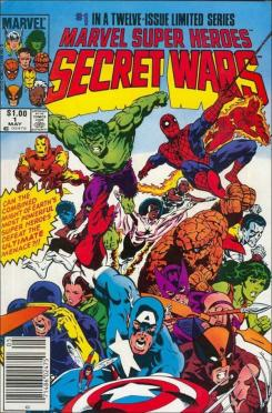 Portada de la Secret Wars original