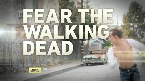 Captura del teaser de AMC de Fear The Walking Dead y otras series