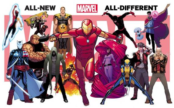 Segundo teaser de All-New All-Different Marvel