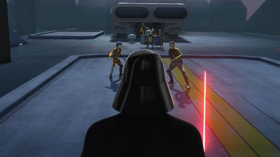 Captura de la segunda temporada de Star Wars Rebels, debut del especial The Siege of Lothal