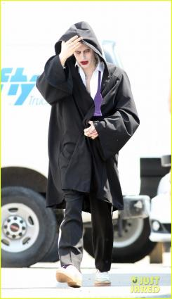 Jared Leto como El Joker en el set de Escuadrón Suicida (2016)