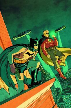 Portada alternativa de Detective Comics #44 por Cliff Chiang