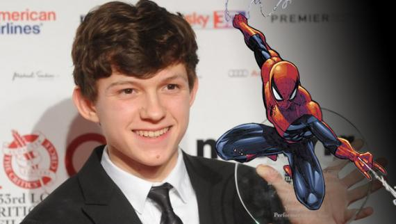 Tom Holland es uno de los candidatos a interpretar a Spider-Man