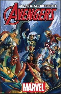 Portada de Alex Ross para All-New All-Different Avengers