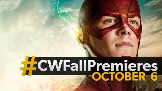 Banner promocional de la segunda temporada de The Flash