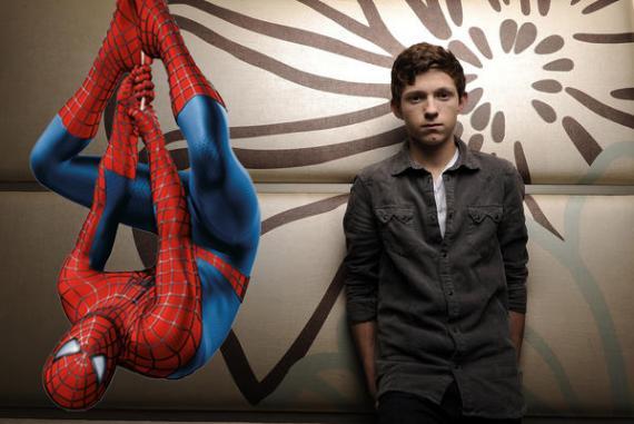 Tom Holland es el nuevo Spider-Man de Marvel Studios y Sony