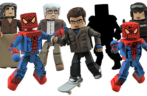 Juguetes minimates de The Amazing Spider-Man (2012)