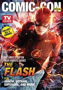 Portada de The Flash del número de TV Guide para la San Diego Comic Con 2015