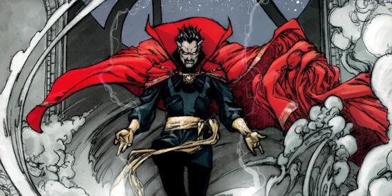 Doctor Extraño / Doctor Strange en los cómics originales de Marvel Cómics