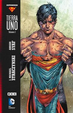 Portada de Superman: Tierra Uno Vol. 3
