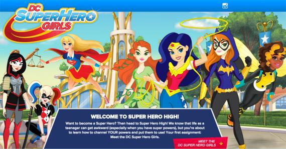 Promo de DC Super Hero Girls