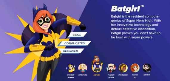 Promo de DC Super Hero Girls con Batgirl