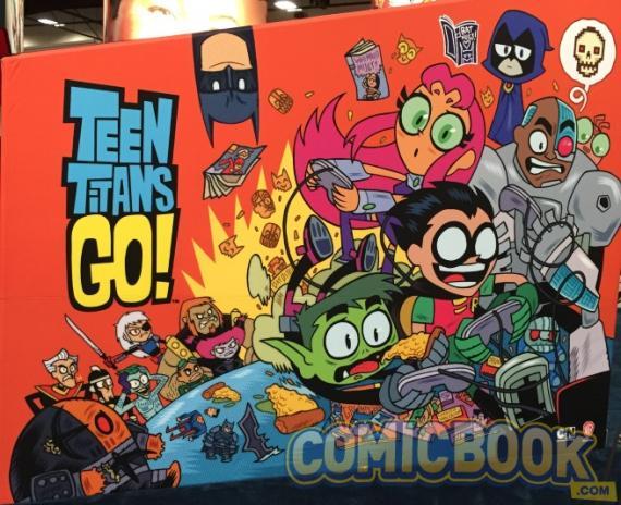 Imagen de Teen Titans Go! en la SDCC15
