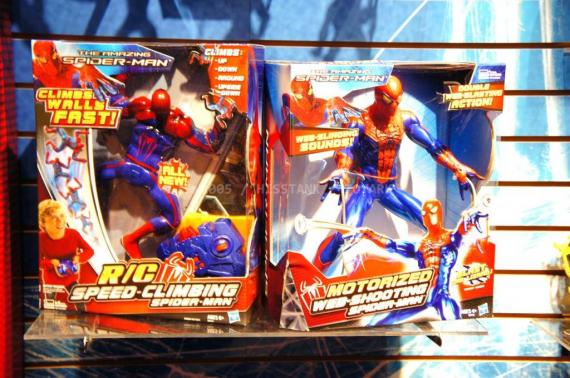 Figuras de Hasbro de The Amazing Spider-Man (2012)