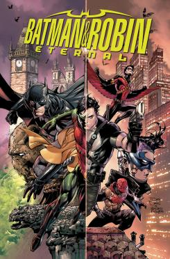 Portada de Batman and Robin Eternal #1