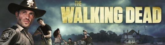 Banner de la segunda temporada de The Walking Dead