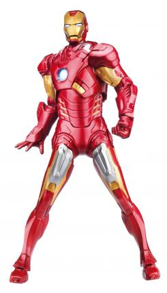 Figura de acción de Iron Man de The Avengers (2012), de Hasbro
