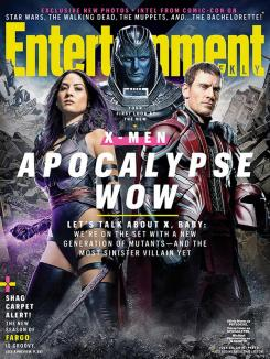 Portada de Entertainment Weekly dedicada a X-Men: Apocalypse (2016)